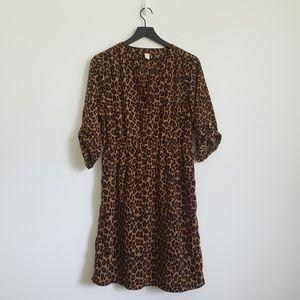 Old Navy Leopard print Dress